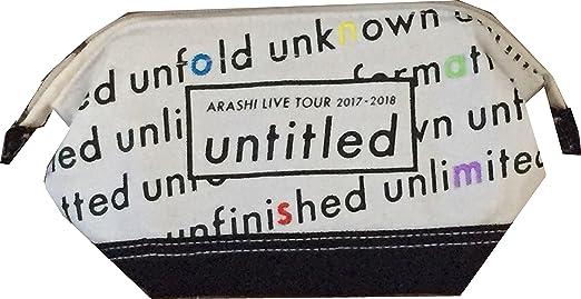 嵐 ARASHI LIVE TOUR 2017,2018 untitled 公式グッズ ポーチ