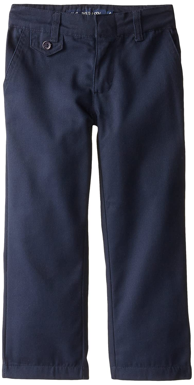Genuine Little Girls' Straight Leg Flat Front Pants