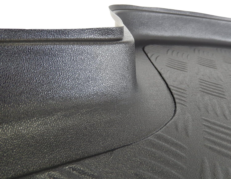 ZentimeX Z999353 Kofferraumwanne fahrzeugspezifisch schwarz RIFFELBLECH-DESIGN