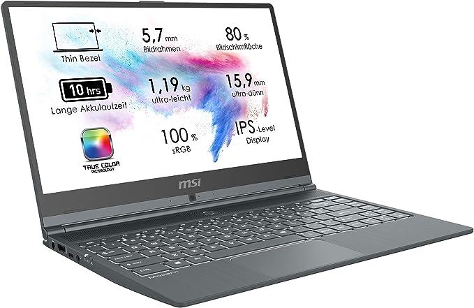 Notebooks mit i5 und 8 GB RAM 14 Zoll MSI