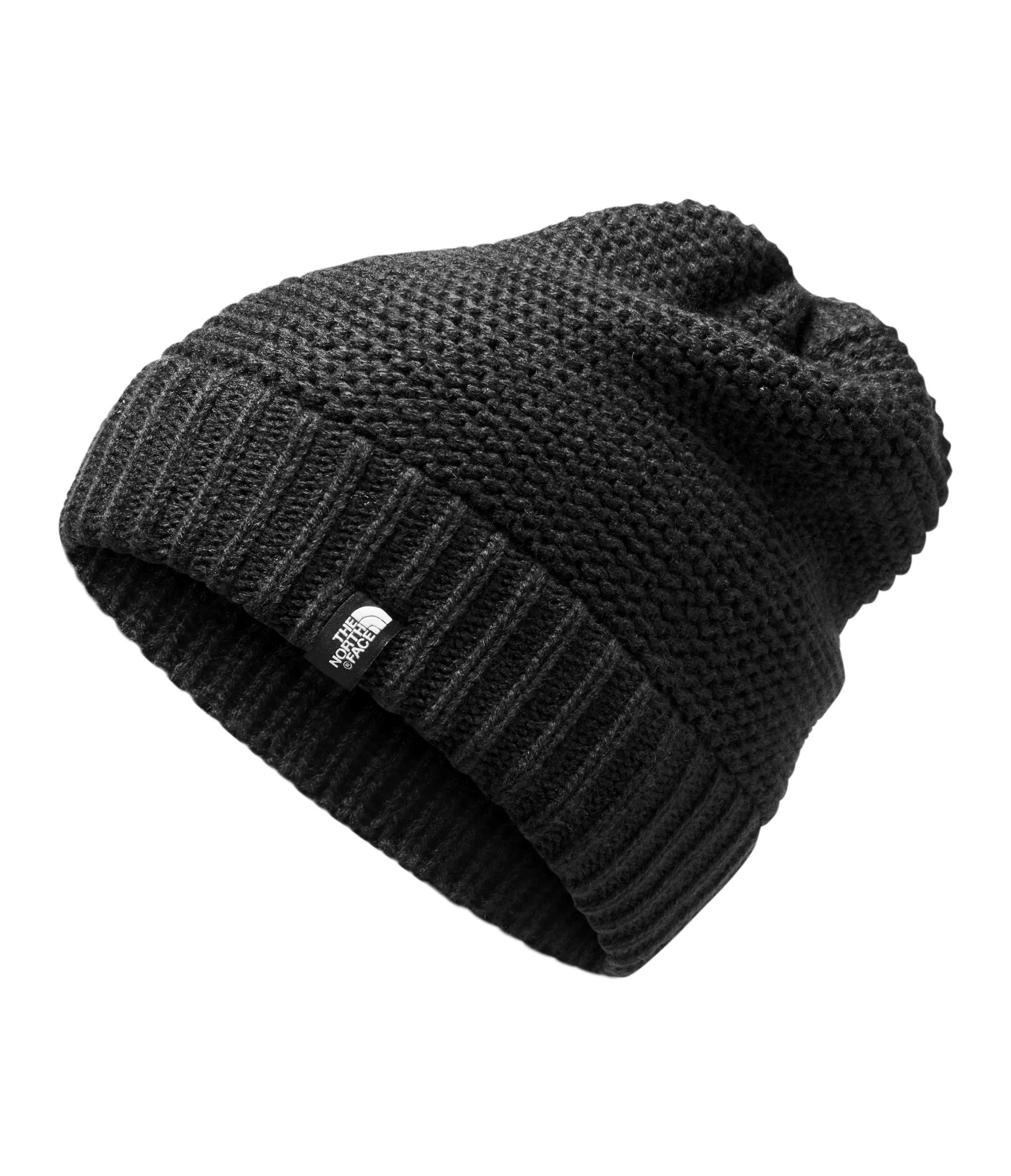 The North Face Women's Purrl Stitch Beanie, TNF Black, One Size