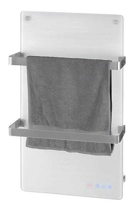 eletro Radiador de baño de cristal, Eurom Sani Comfort, Radiador Toallero Radiador-calentador