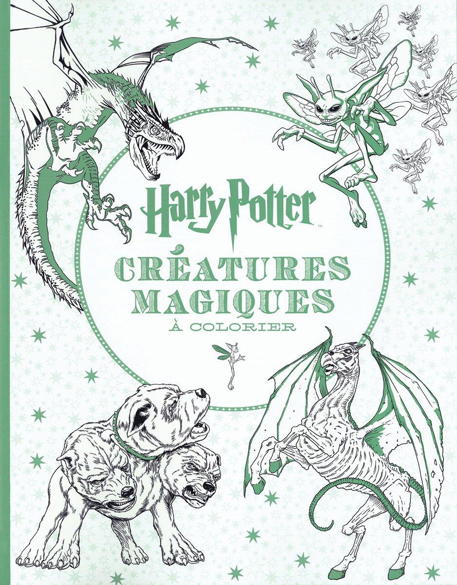 Harry Potter Le Livre De Coloriage N 2 Creatures Magiques A