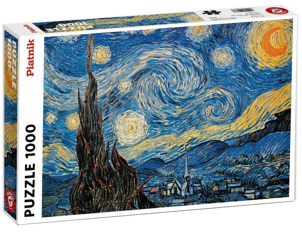 Piatnik Starry Night 1000 Piece Vincent van Gogh Jigsaw Puzzle