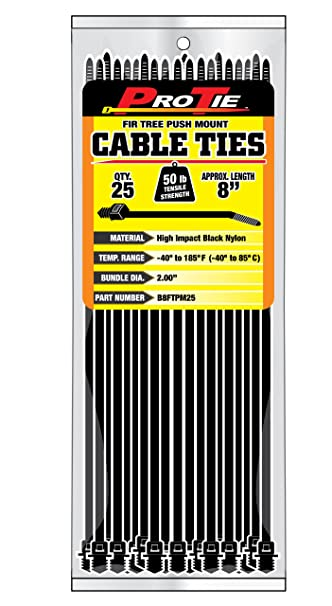 Zip Ties Push In Pins For Instrument Panel Wire Harness