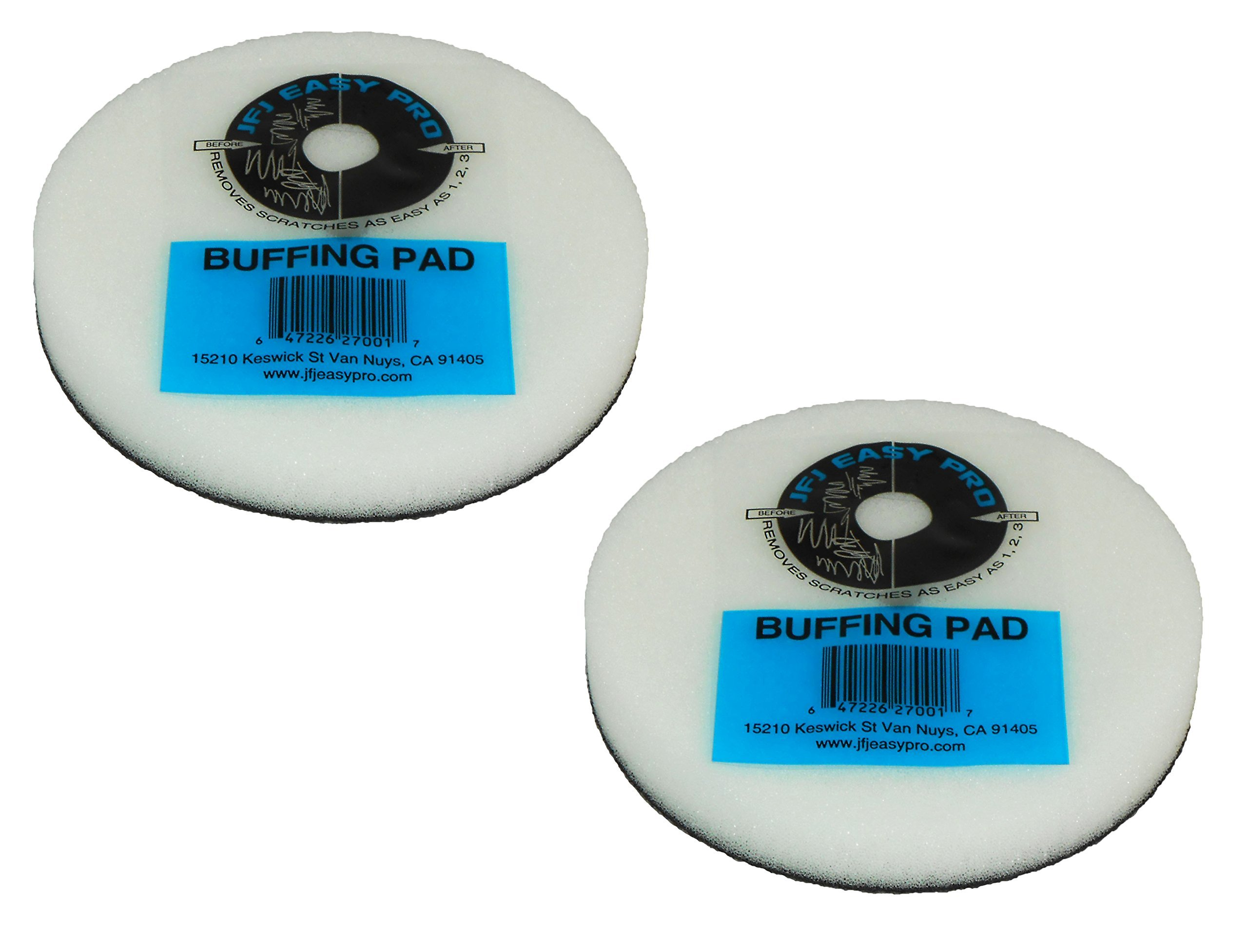 2 Pack Original JFJ Easy Pro Buffing Pads by JFJ