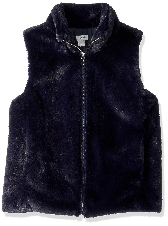 J.Crew Mercantile Womens Faux Fur Vest K2216