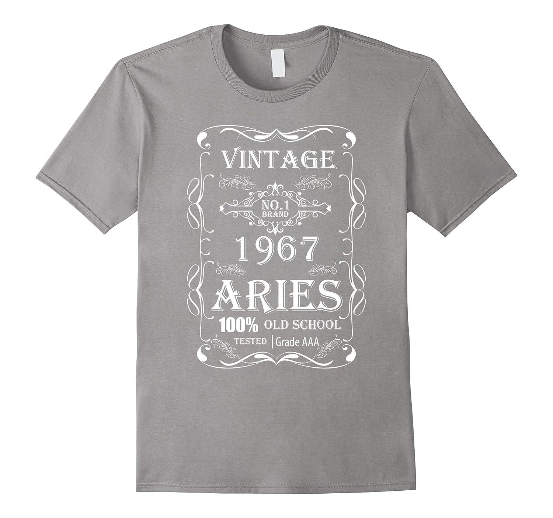 506907416 Vintage Birthday Tee Shirt – 1967 Aries-TD – Teedep