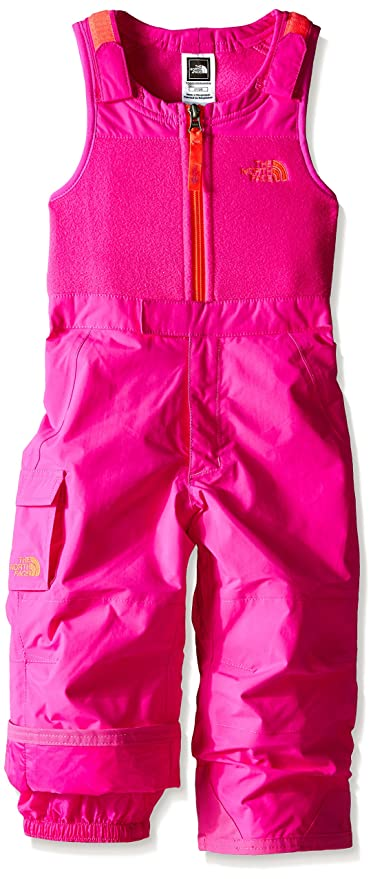 4852b5d4c72fc Amazon.com  The North Face Insulated Bib Pant - Toddler Girls - Azalea Pink  - 2T  Sports   Outdoors