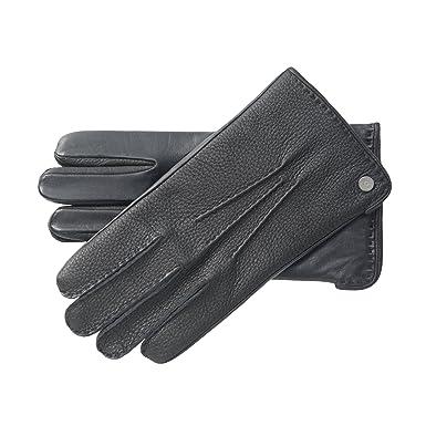 3830f07a976aa4 Roeckl Herren Handschuhe Urban Deer Touch, Einfarbig, Gr. 9, Schwarz (black