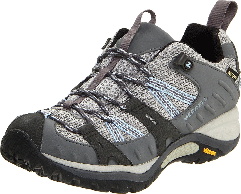 Merrell Womens Siren Sport Q2 GORE-TEX Walking Shoes Blue Sports Trainers