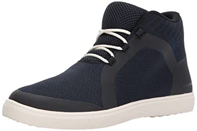 RW by Robert Wayne Men's Fenmore Sneaker, Dark Blue, ...