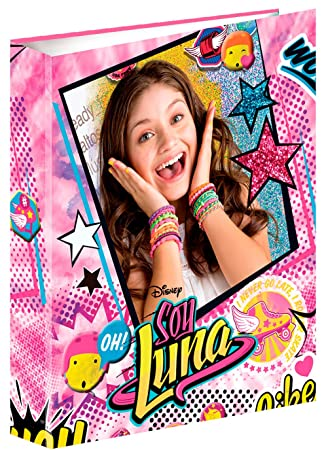 Soy Luna- Carpeta Anillas A4 (Montichelvo 53453): Amazon.es ...