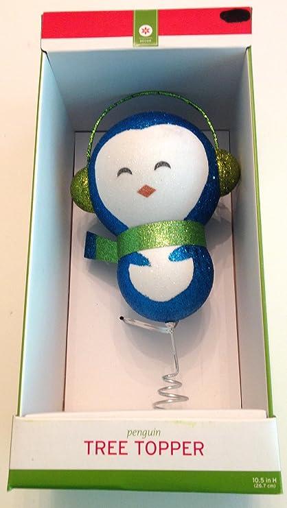 Christmas Penguin Foam Tree Topper: Amazon.ca: Home & Kitchen