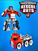 NEW 2016 TRANSFORMERS RESCUE BOTS OPTIMUS PRIME