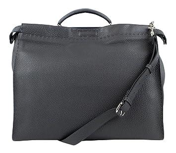 040f12815531 shopping fendi 2jours mini tote bag gray 400ca f7fcc  low price fendi mens  gray leather peakaboo selleria handbag 8de3c 3b04c