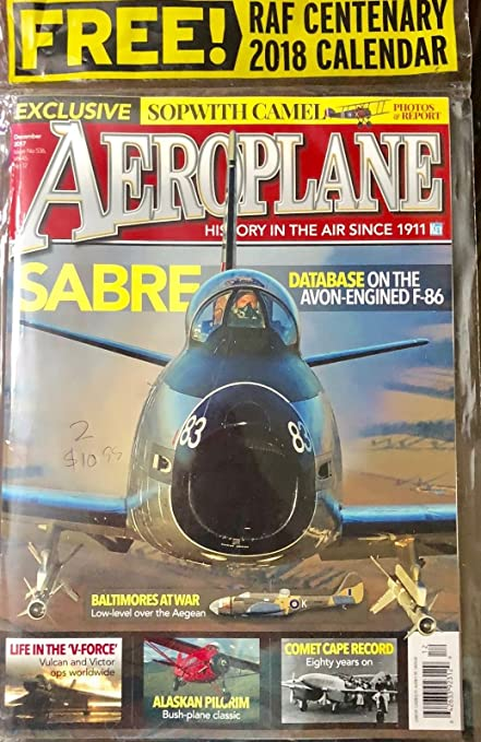 Amazon com: AEROPLANE MAGAZINE, DECEMBER 2017 ISSUE 536