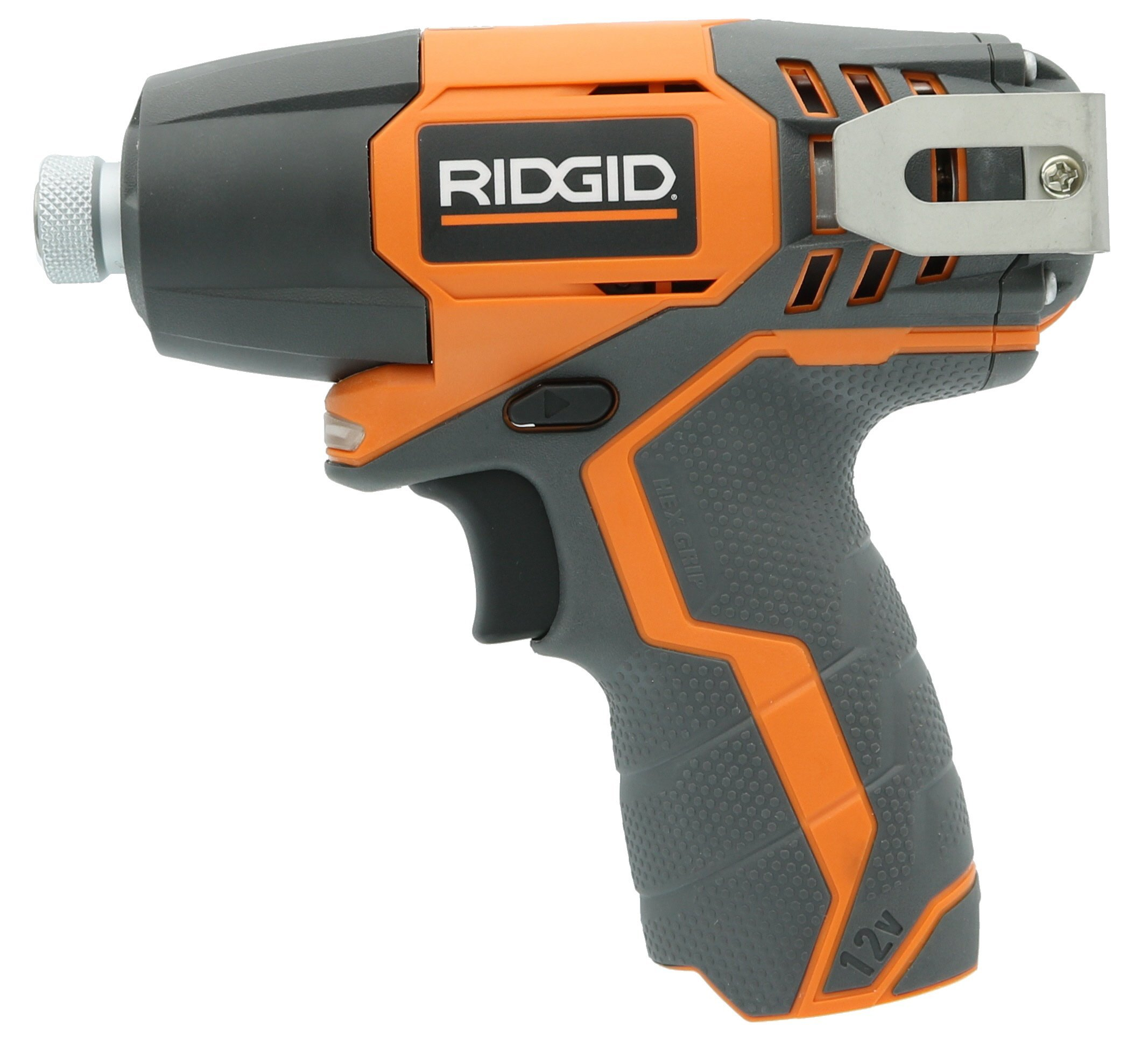 Ridgid R82230N 1/4 Inch 12 Volt Lithium Ion 1,100 In. Lbs. Impact Driver (Battery Not Included, Power Tool Only) (Certified Refurbished) by Ridgid (Image #2)