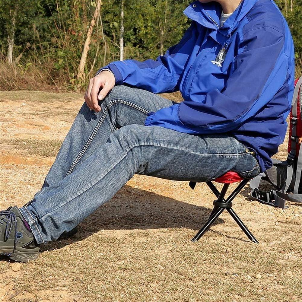 YUHEN Chaise Pliante Fauteuil Camping en Plein air Meubles randonn/ée p/édestre Camping p/êche Stool Chaise Pliante Triangle Portable Charge maximale 130KG,Bleu