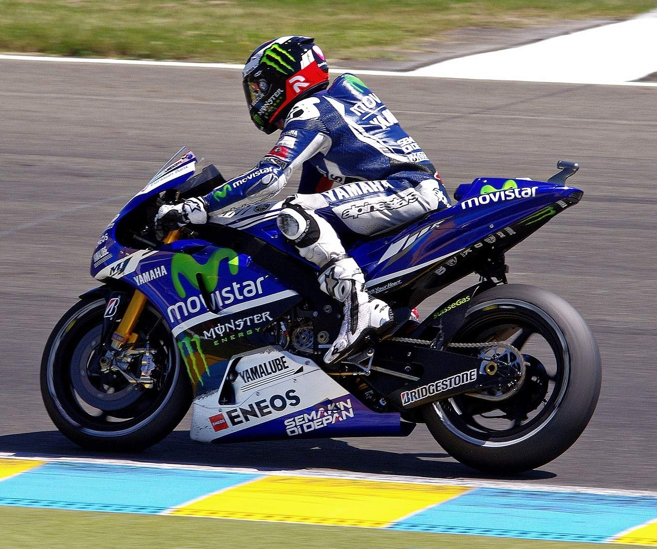 Jorge Lorenzo Llavero Yamaha Racing Team MotoGP Hammer 99 ...