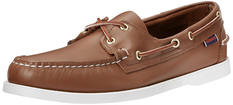 Sebago Docksides, Náuticos para Hombre, marrón (Tan), 44 EU: Amazon.es: Zapatos y complementos