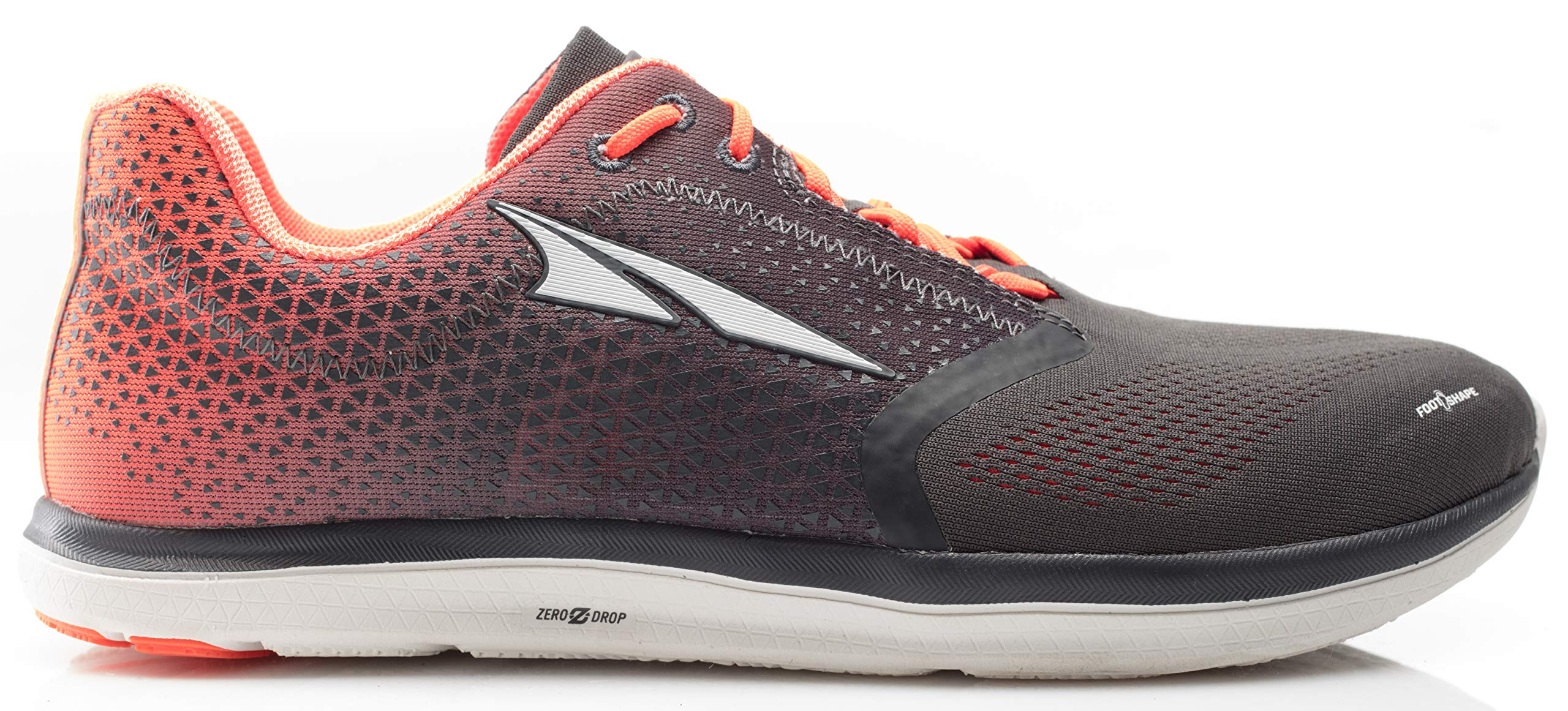 Altra AFM1836P Men's Solstice Road Running Shoe, Gray/Orange - 8 M US