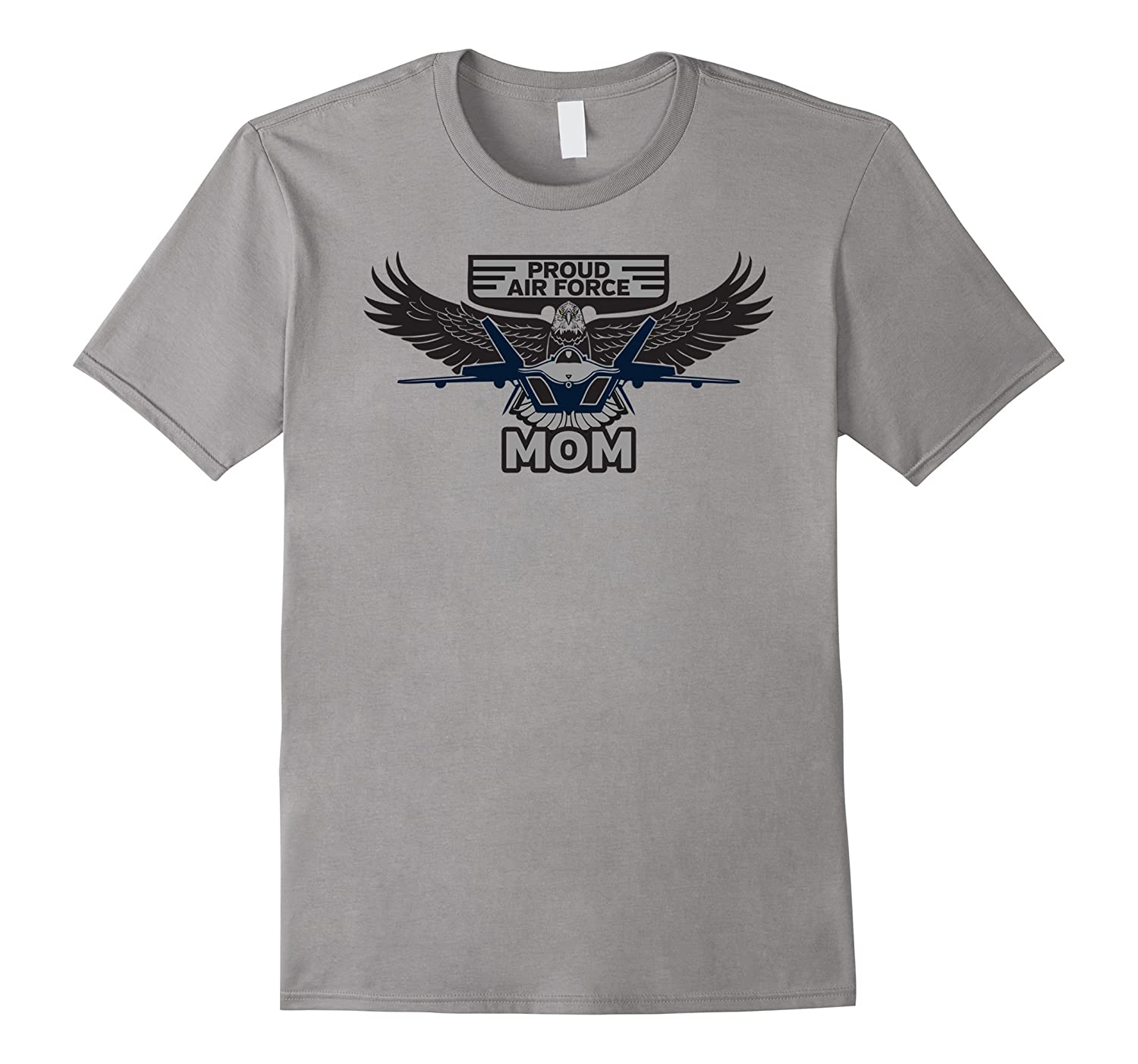 Proud Air Force Mom American T-shirt-CD