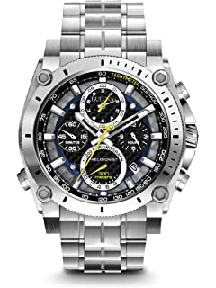 bf2d63000 Amazon.com: Bulova Men's Mechanical-Hand-Wind Watch with Stainless ...