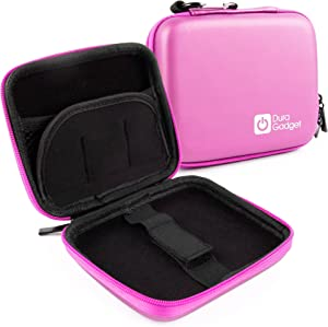 DURAGADGET Premium Quality Pink Shock-Absorbent Hard Shell Case - Compatible with The Nextbase in-Car Dash Cam 101 | Dash Cam 202 Lite | Dash Cam 512G