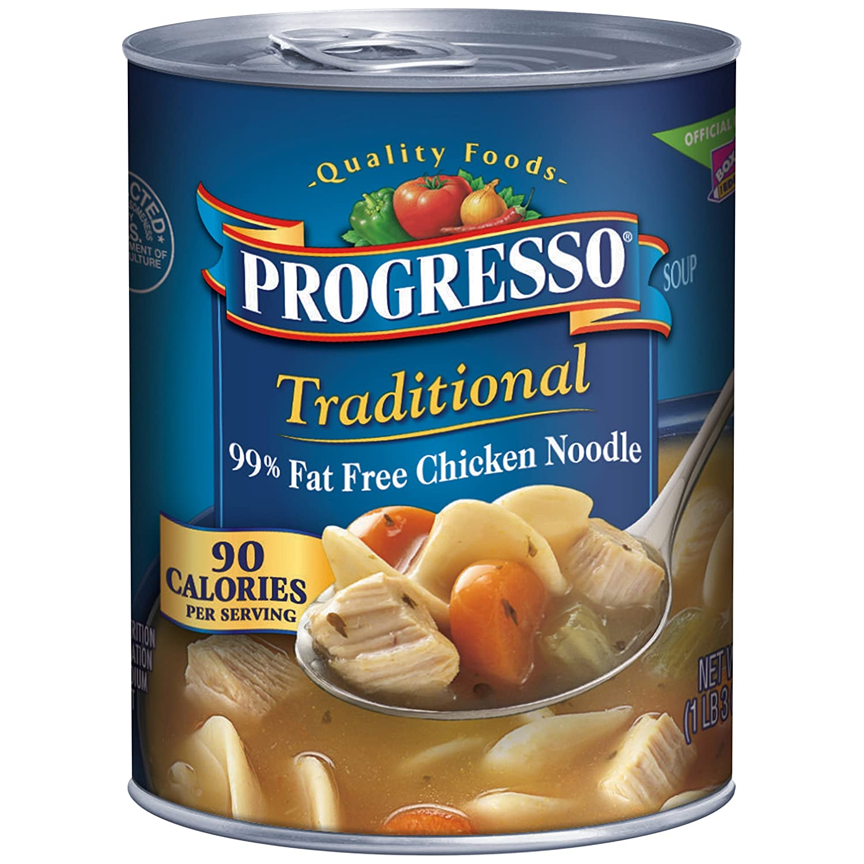 Amazon.com : Progresso Traditional Soup, 99% Fat Free Chicken Noodle ...