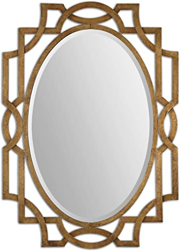 Uttermost Margutta Gold Oval Mirror Model-12869
