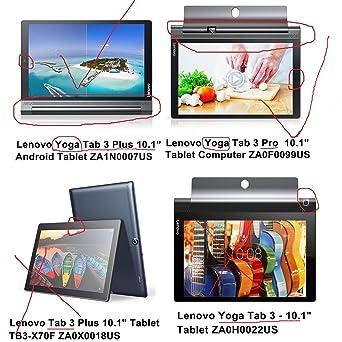 RBEIK Lenovo Yoga Tab 3 Plus 10 Protector de Pantalla Premium Templado Vidrio Protector de Pantalla para Lenovo Yoga Tab 3 Plus 10.1 Inch Tablet con ...