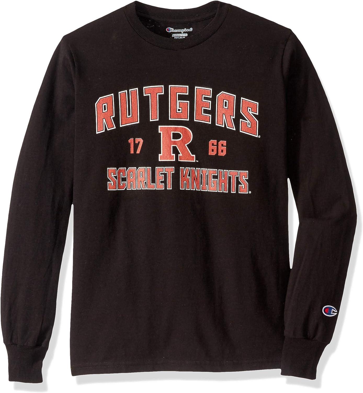 Champion NCAA Boy's NCAA Boy's Long Sleeve Jersey T-Shirt