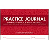 Practice Journal: Weekly Planner for Music Students