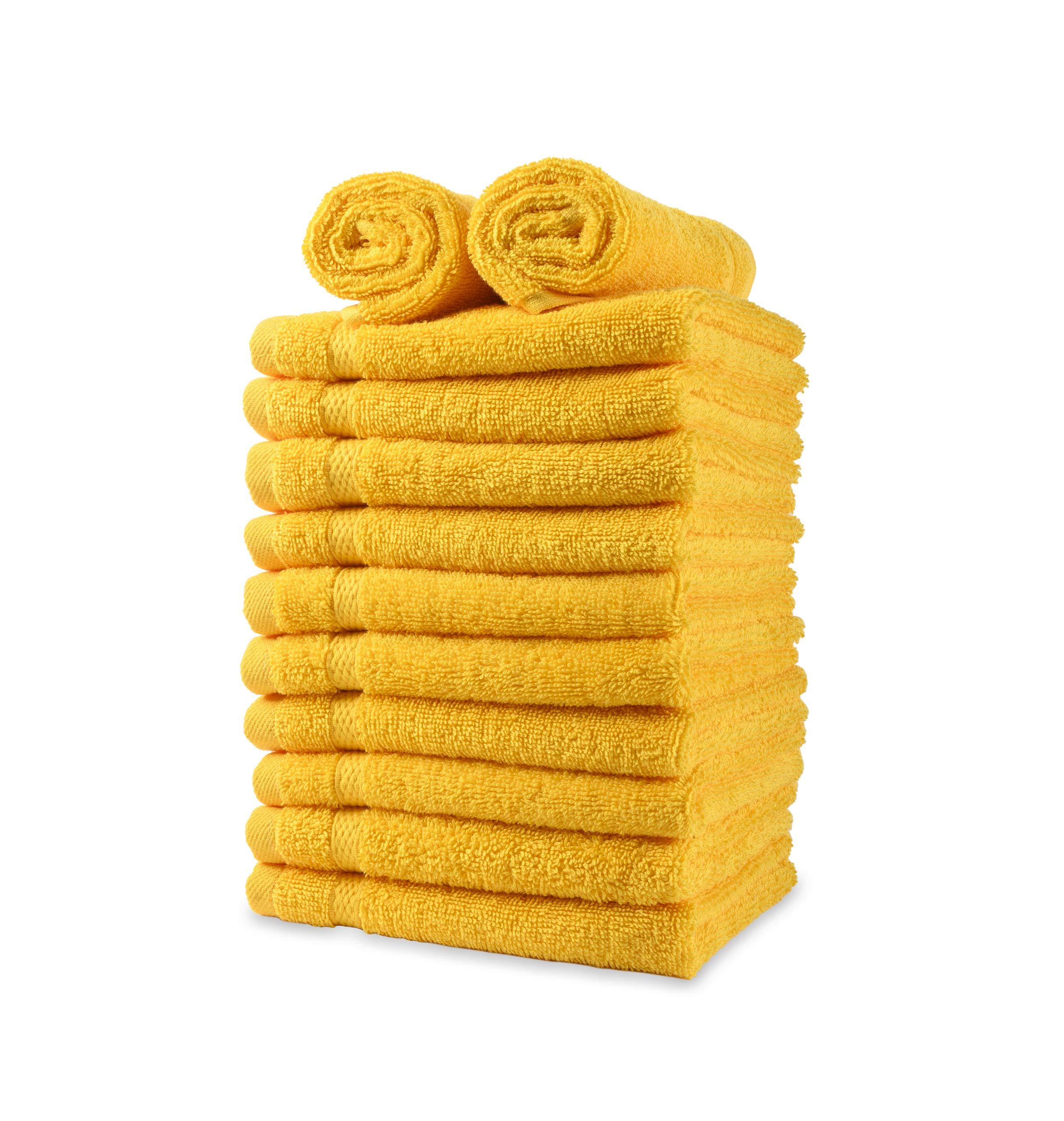 Payam Collection Premium Turkish Towels (Yellow)