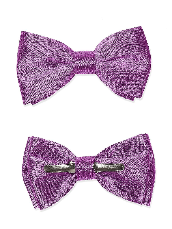 Boy's Matte Satin Clip Bow Tie by Dessy