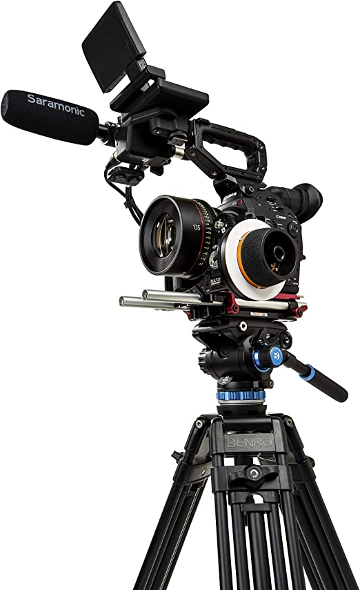 Benro S6 Pro Flat Base Fluid Video Head 13 2 Lb Max 6 Kamera