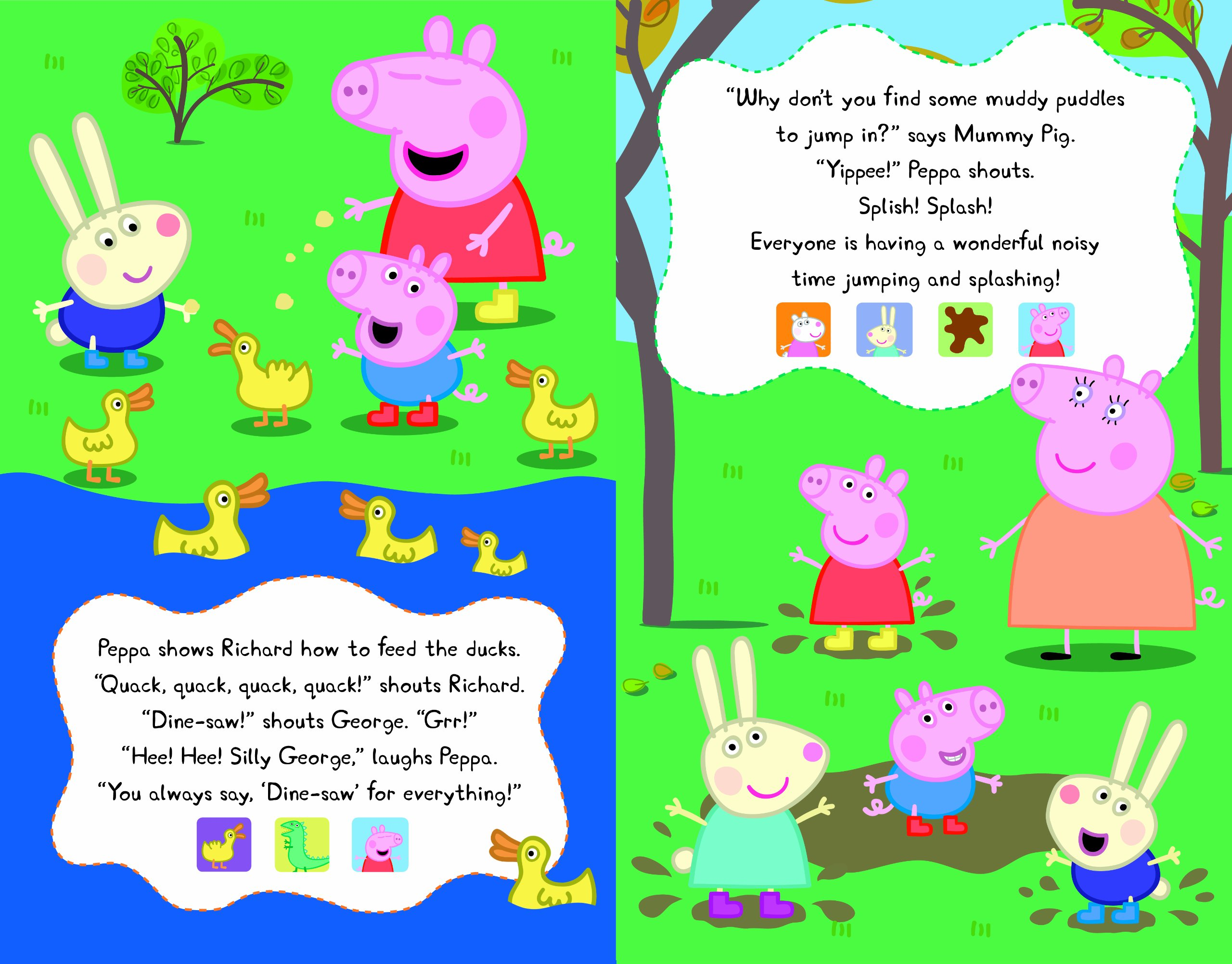 Peppa's Super Noisy Sound Book (Peppa Pig)