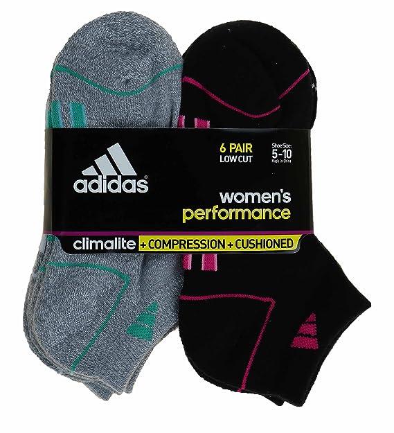 adidas - Calcetines cortos - para mujer negro BLACK, GREY
