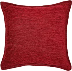 """McAlister Plush Woven Chenille 16"""" Decor Pillow Cover for Couch 