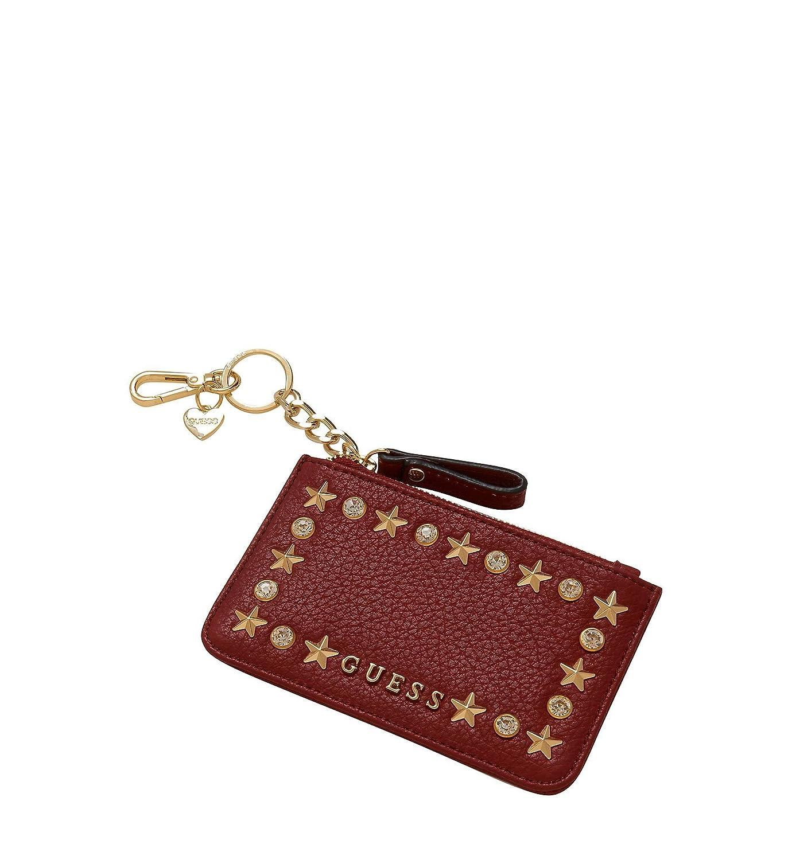 Guess - Monedero para mujer, color rojo, talla única: Amazon ...