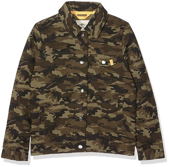 Lea amp; Ben Décontracté 100 Camouflage Coton Enfants Coupe Veste Tendance Confortable aq1C5dCw