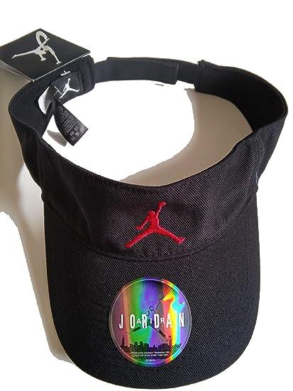 classic shoes cheaper low price sale Nike Unisexe Jordan Visière réglable, Noir: Amazon.fr ...