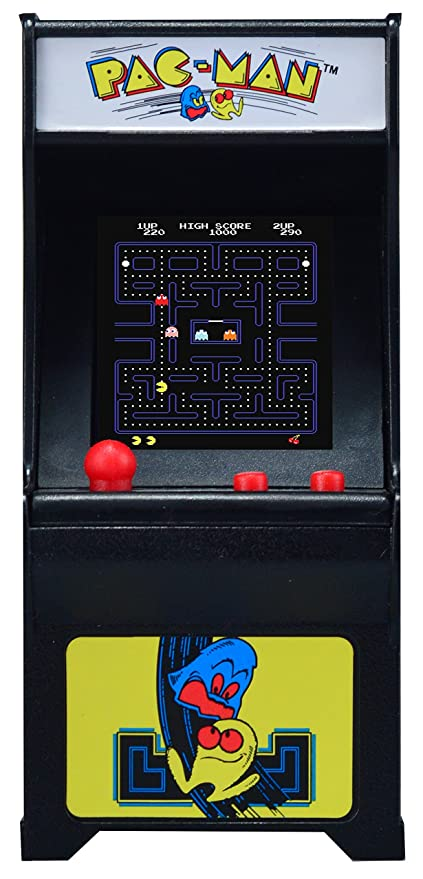 amazon com tiny arcade pac man miniature arcade game tiny arcade