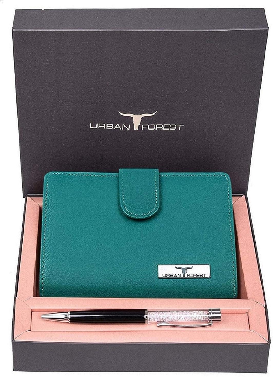 Ladies Leather Wallet Combo