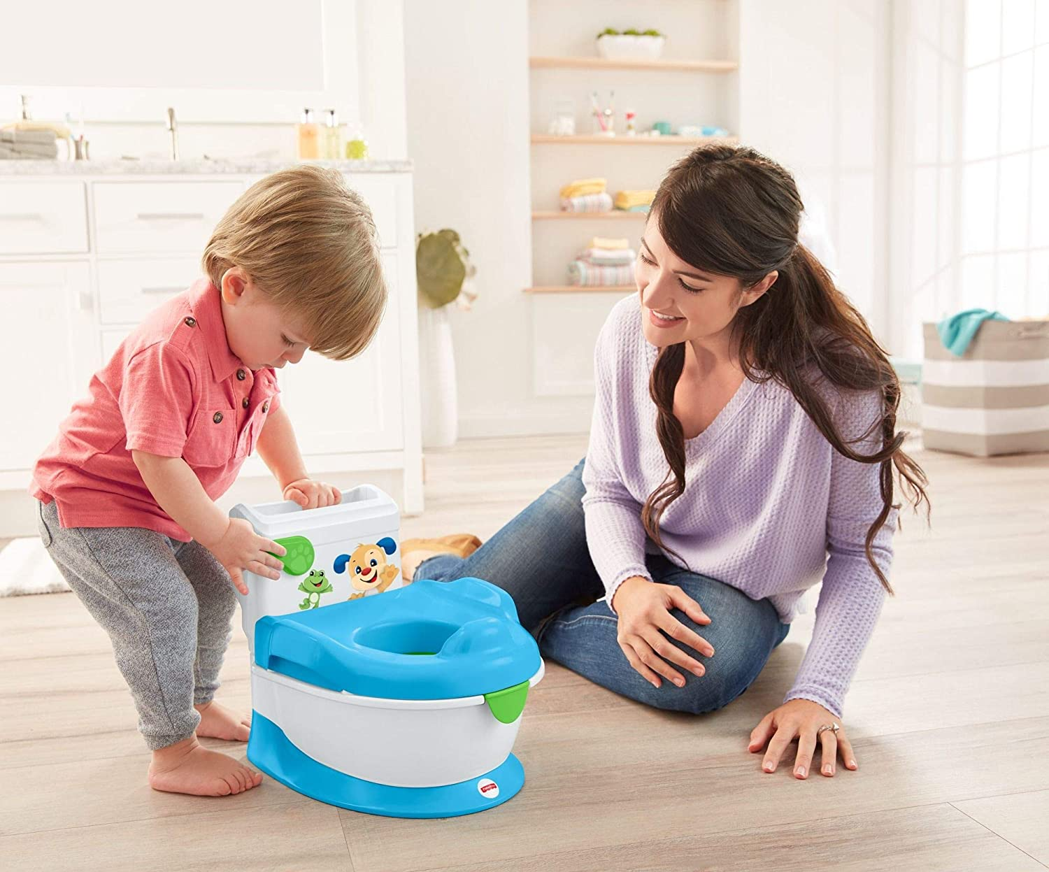 Fisher-price Laugh And Learn With Puppy Potty Version Anglaise