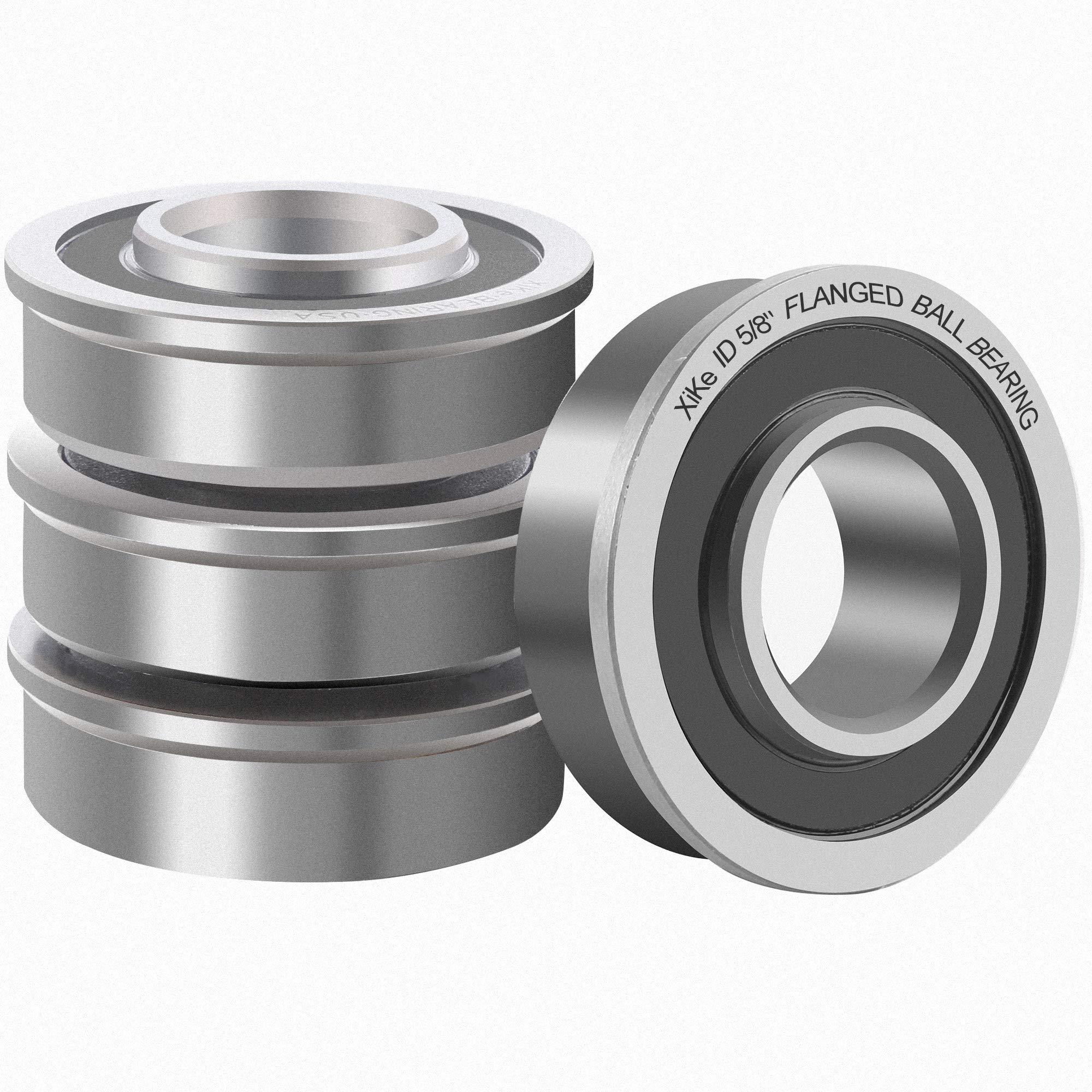 Sunbelt Prime Line Exmark Carts /& Hand Trucks Wheel Hub Replacement Part Compatible for Marathon Stens 8 PCS Flanged Ball Bearings ID 1//2 x OD 1-3//8 for Lawn Mower Wheelbarrows Generators