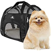 Pet Union Pet Carrier for Small Dogs, Cats, Puppies, Kittens, Pets, Collapsible, Travel…