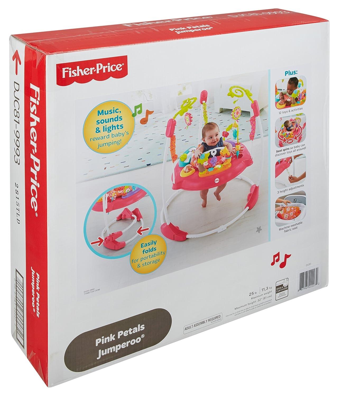 Fisher-Price Pink Petals Jumperoo DJC81