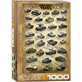 EuroGraphics Tanks of WWII 1000 Piece Puzzle